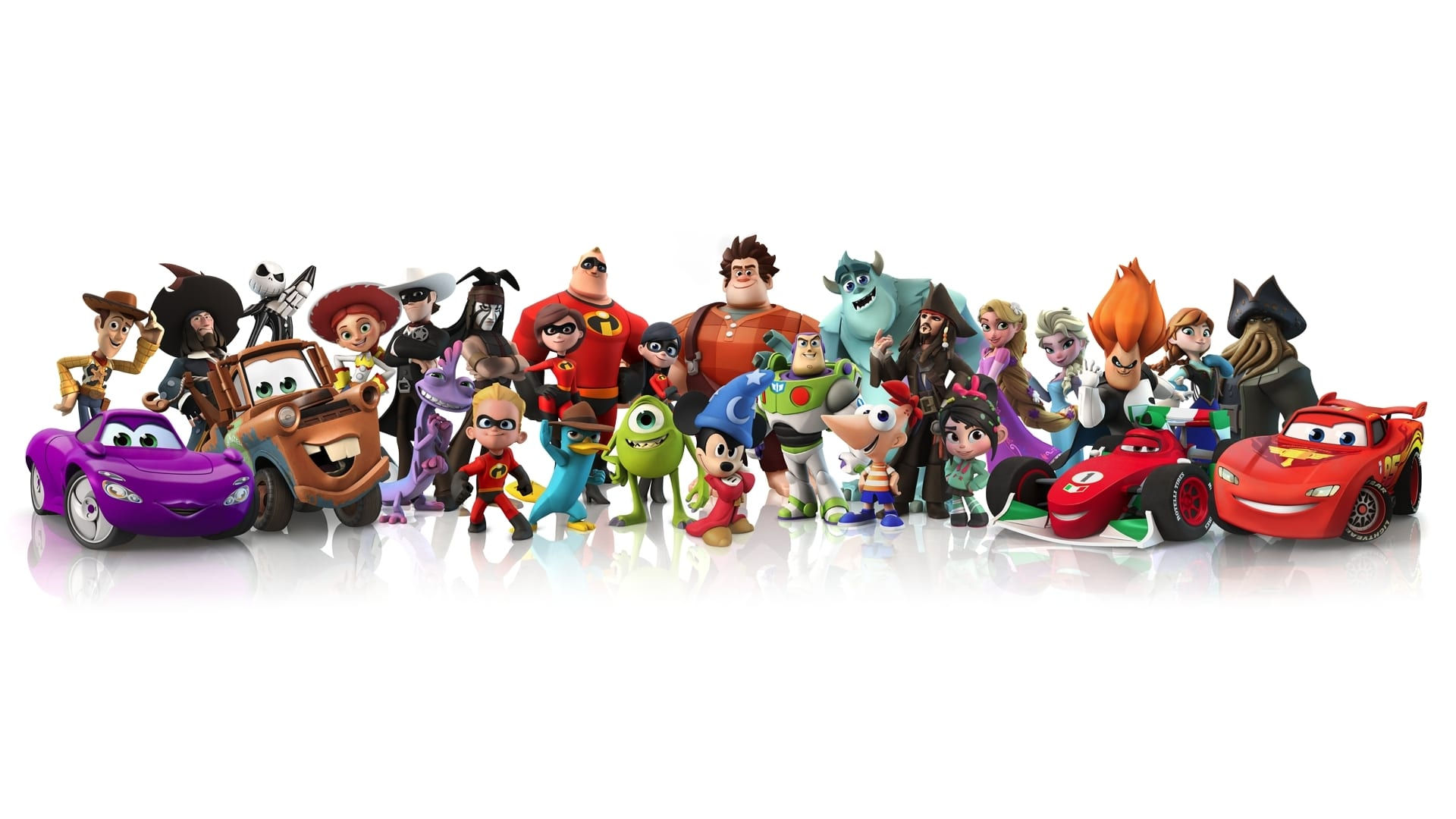 Disney Infinity Character Lineup