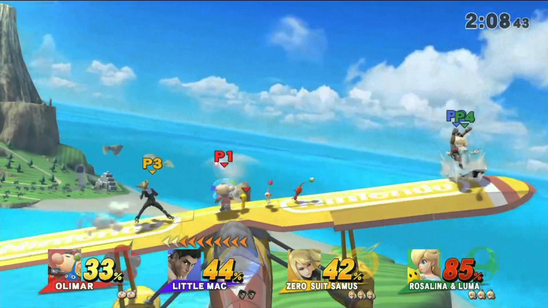 Super Smash Brothers for Wii U Pilotwings