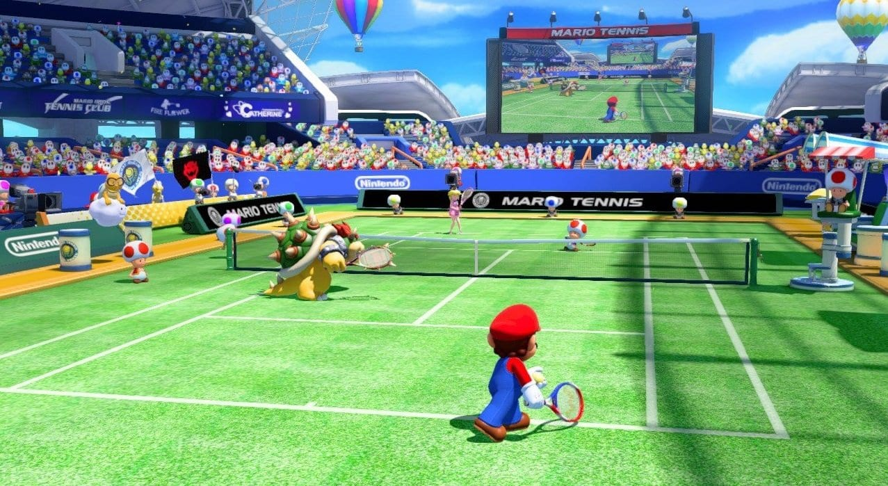 Mario Tennis Ultra Smash 4