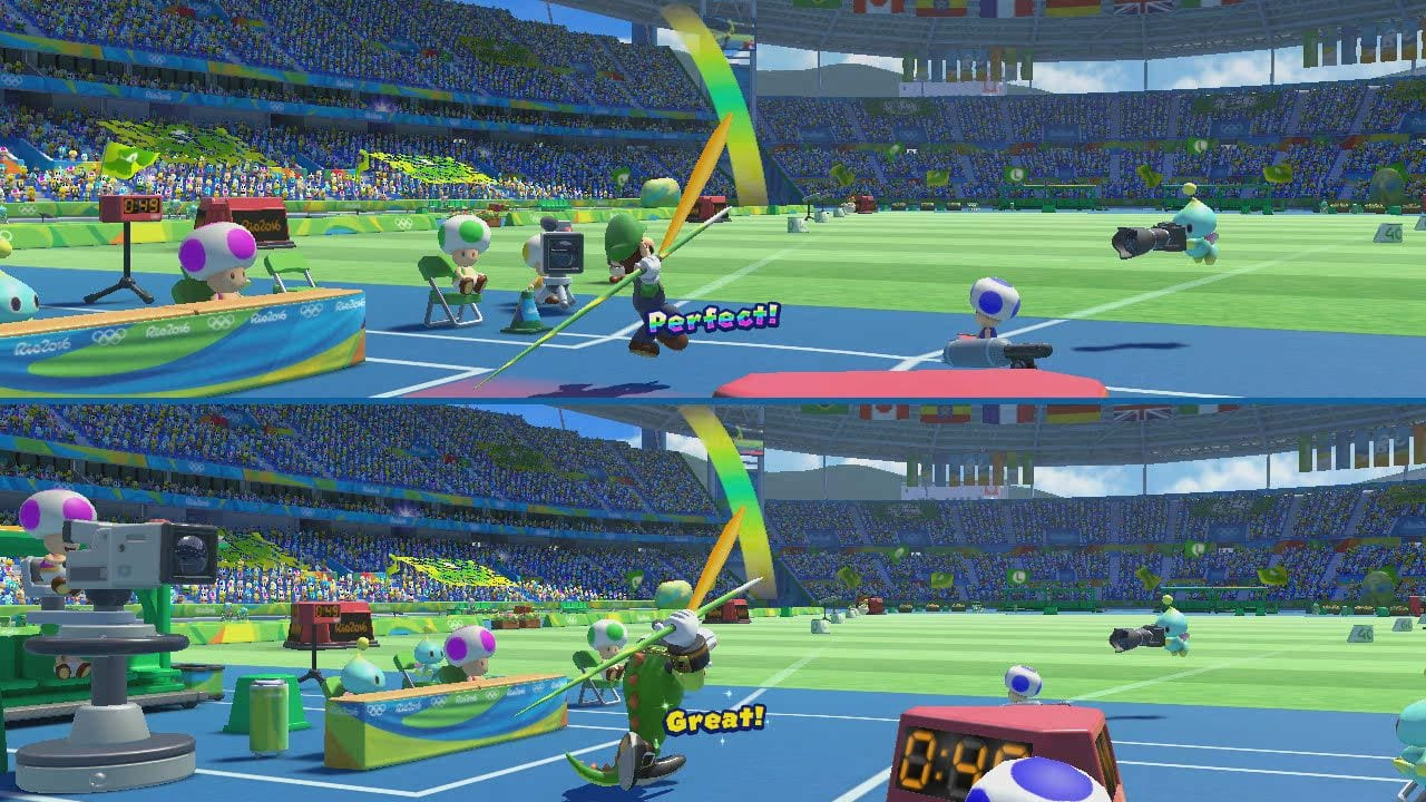 Mario and Sonic at the Rio 2016 Olympic Games review 3