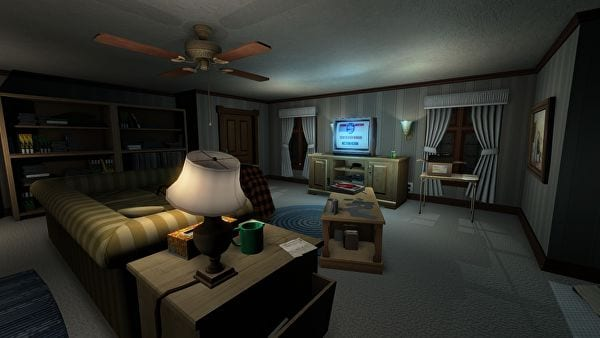 Gone Home review 1