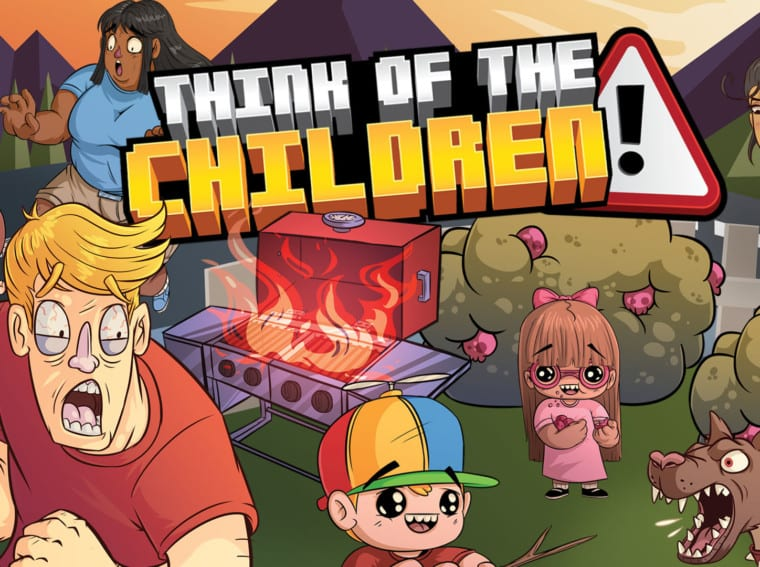 think of the children switch hero