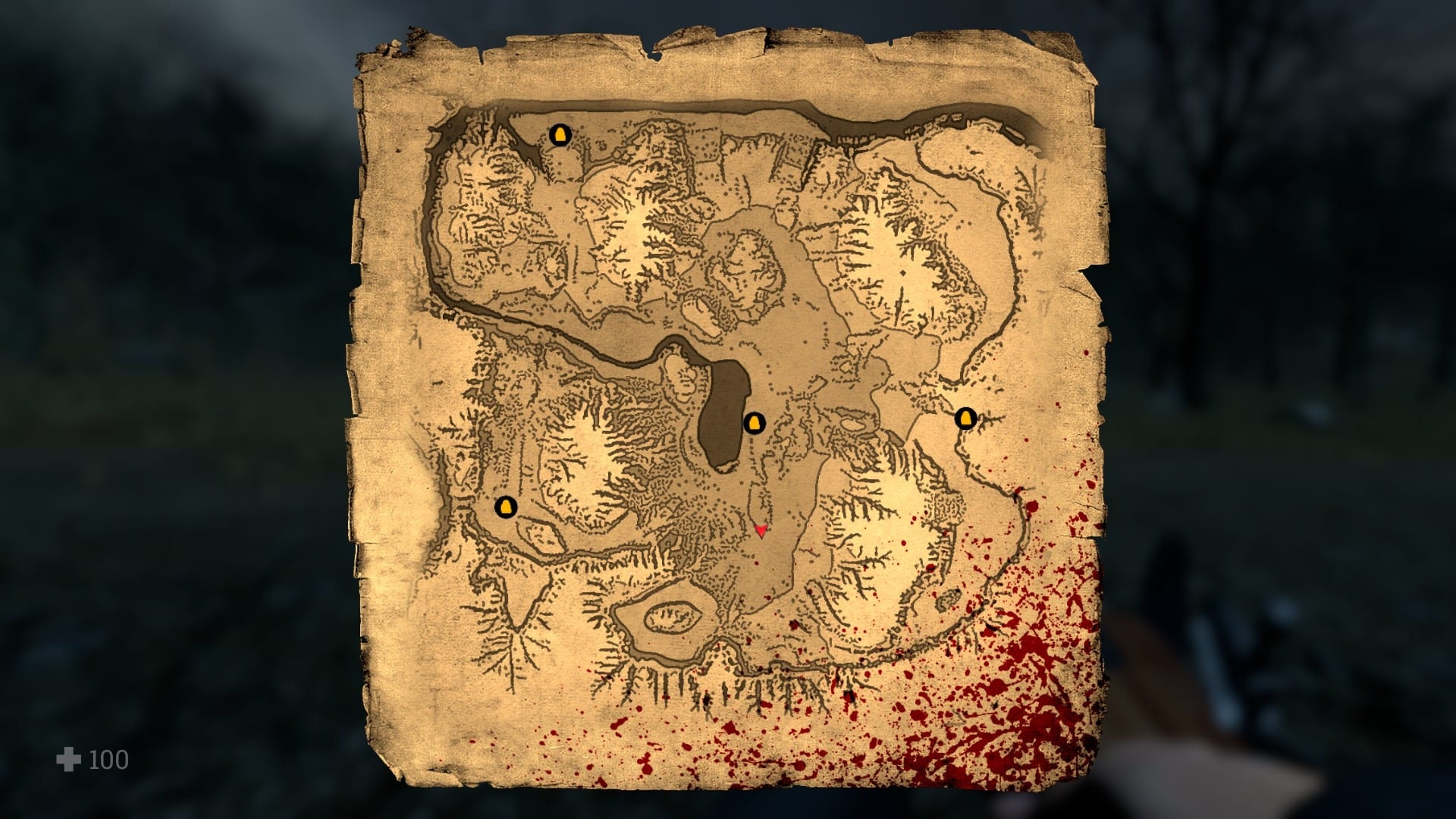 The map, from Witch Hunt.