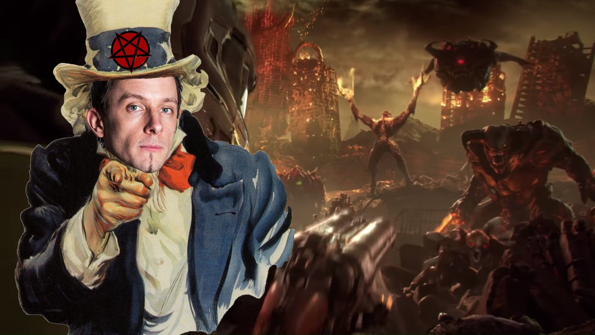 Mick Gordon Wants You