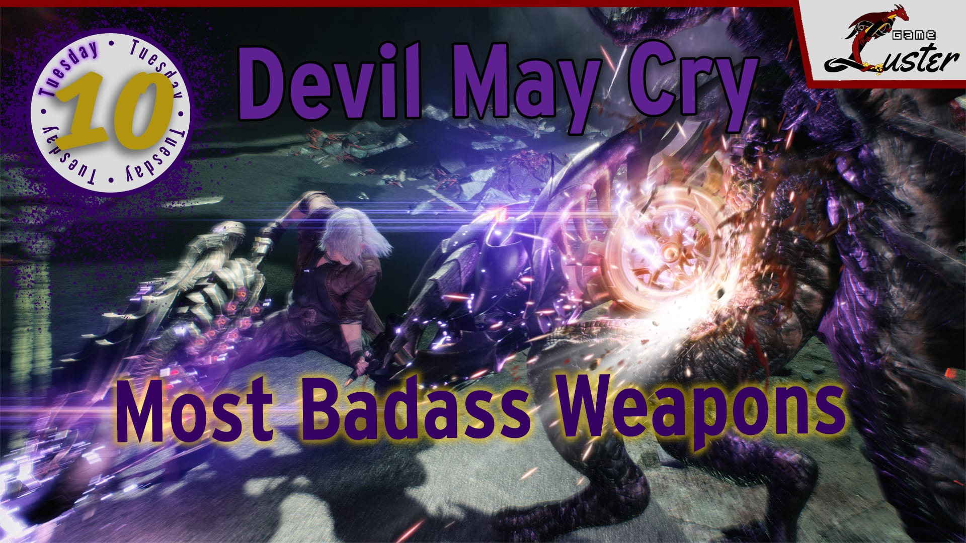 Tuesday 10 Devil May Cry Weapons