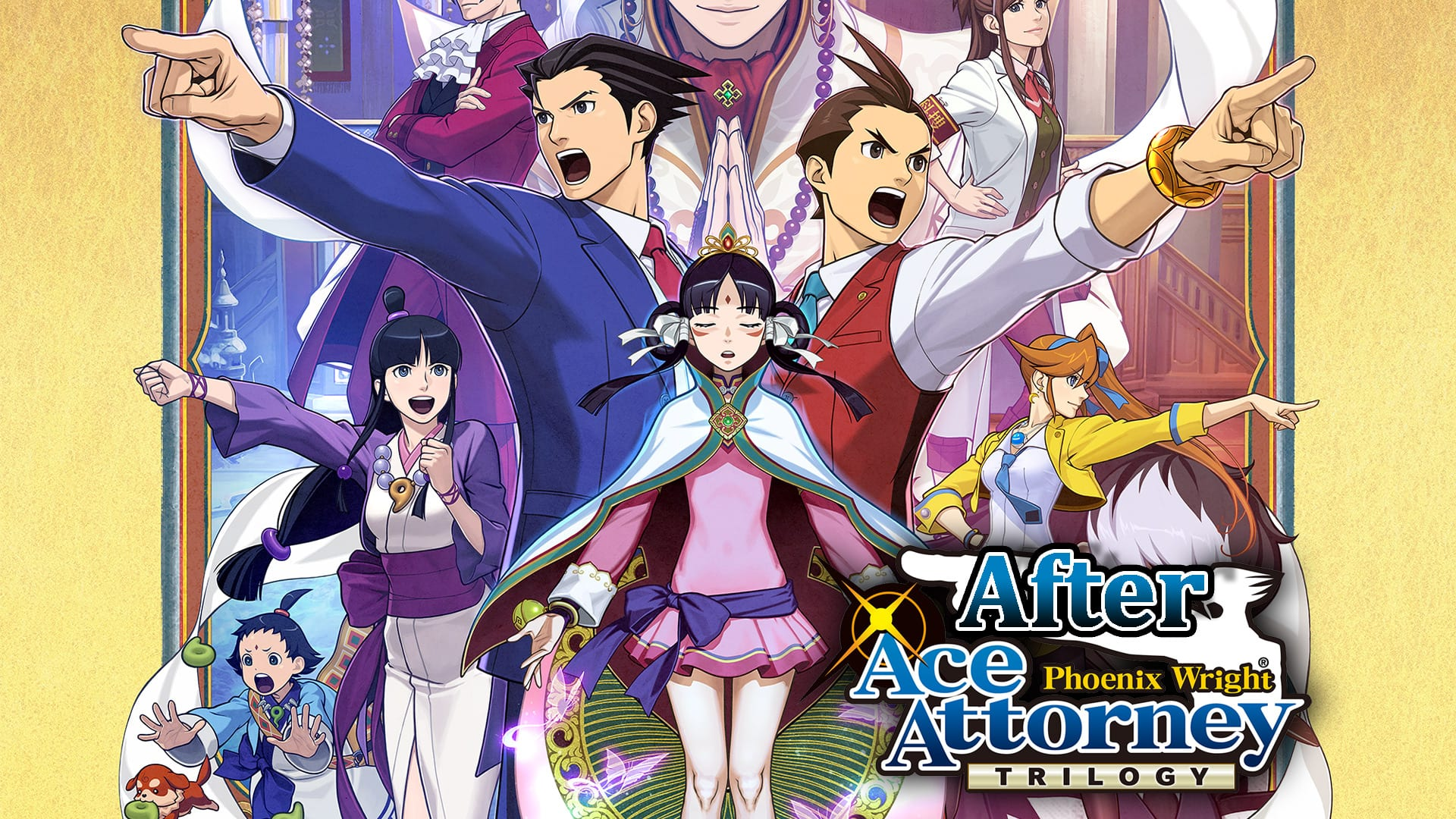 After Ace Attorney Trilogy Phoenix Wright