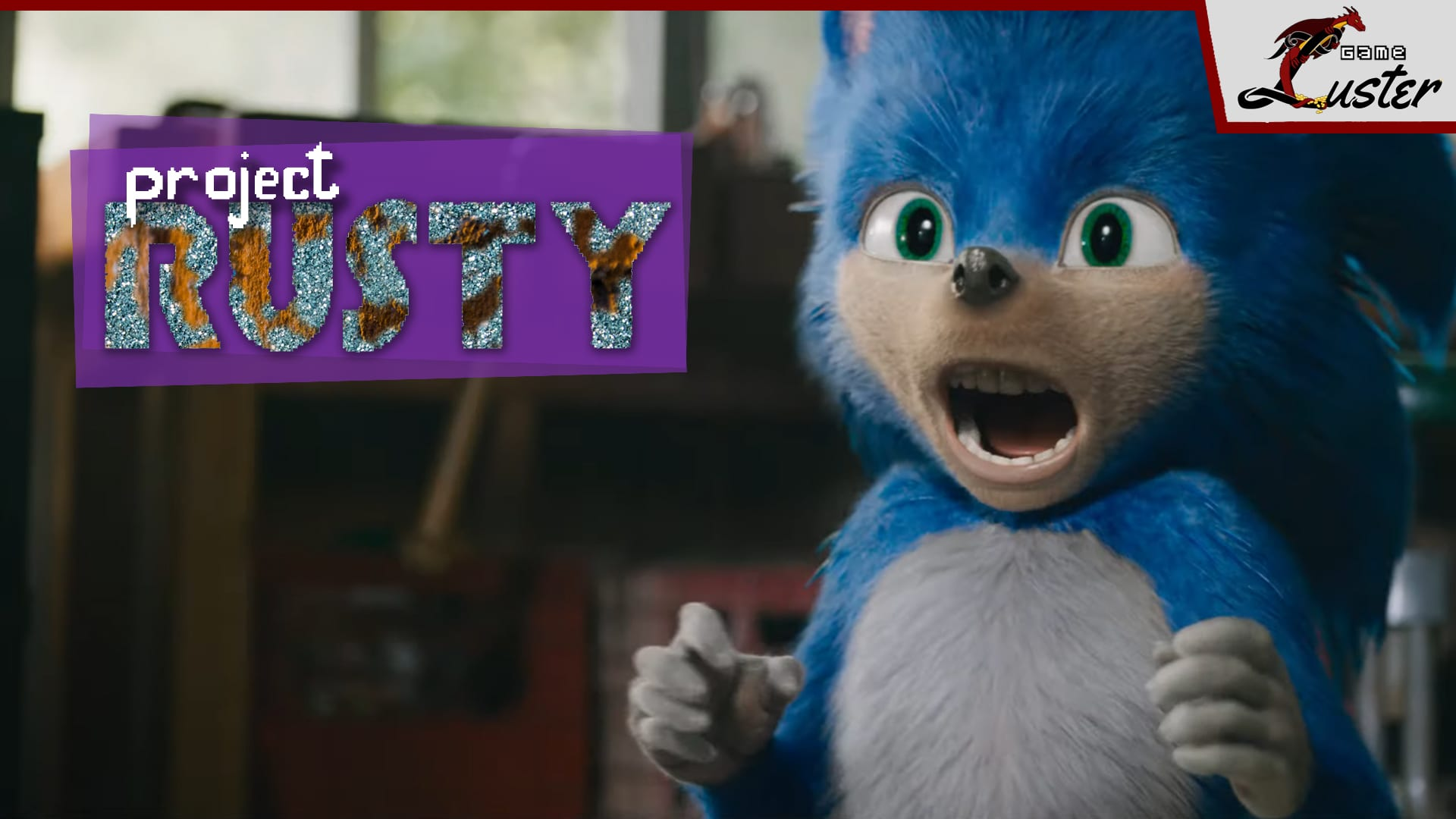 Project Rusty Sonic the Hedgehog Movie