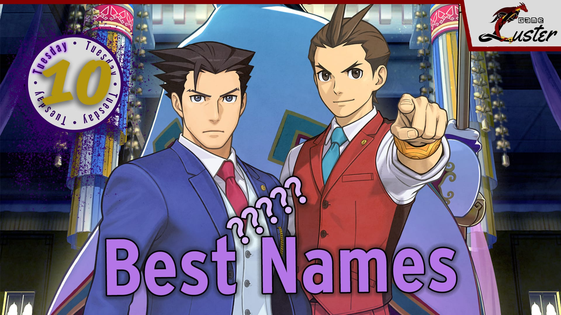 Tuesday 10 Ace Attorney