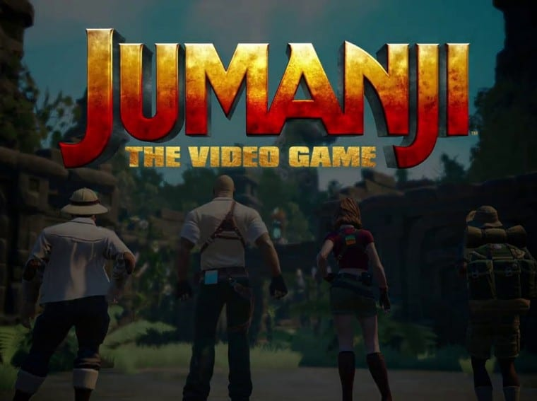 Jumanji The Video Game title
