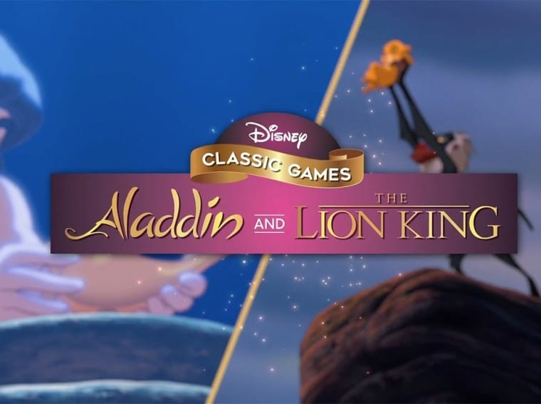 Disney Classic Games Aladdin and The Lion King main