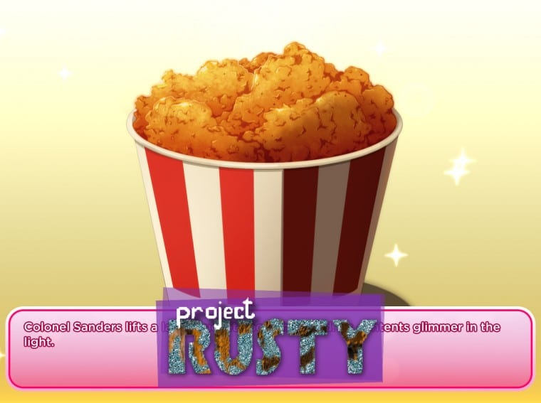 Project Rusty KFC Dating Sim