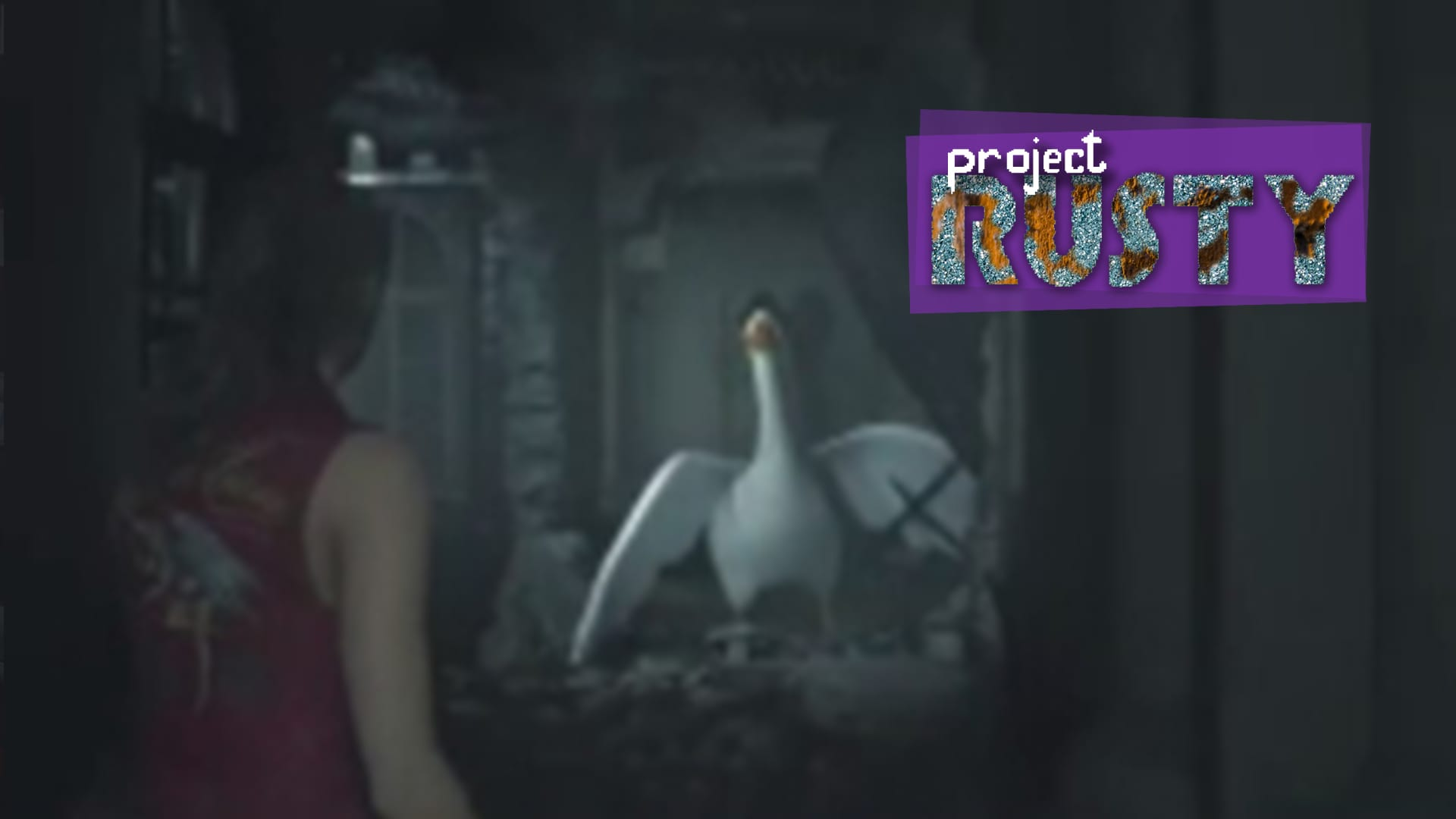 Project Rusty Resident Evil 2 Goose