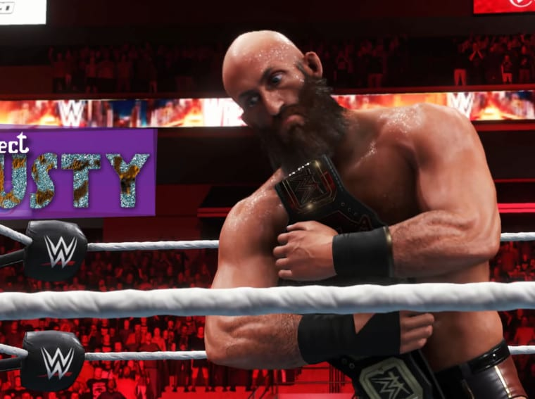 Project Rusty WWE 2k20