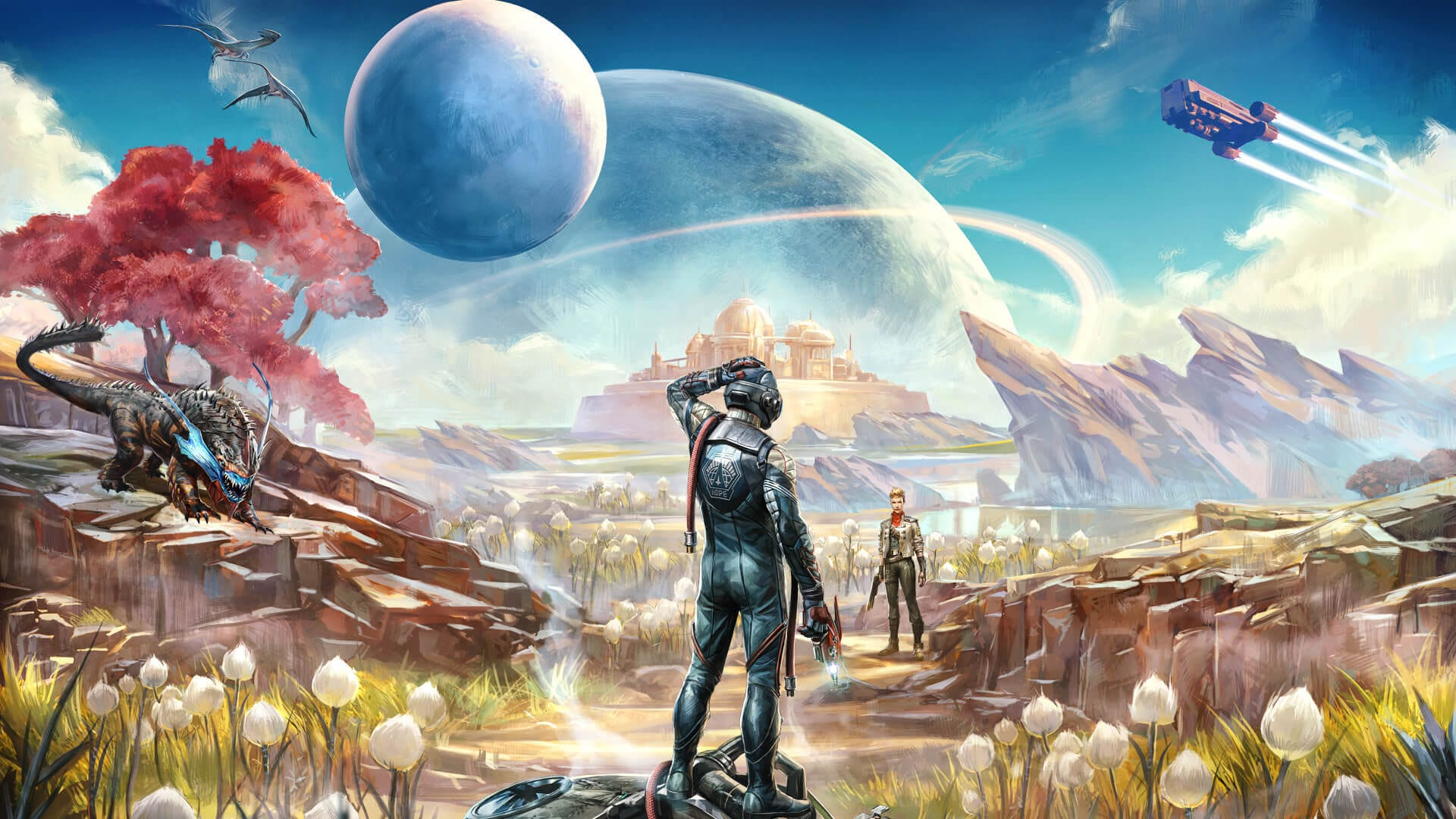 The Outer Worlds art