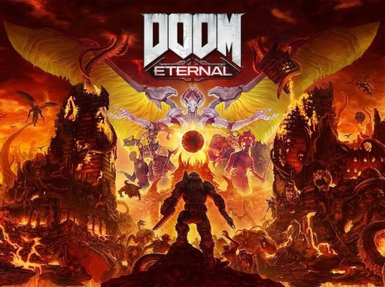 doom eternal art