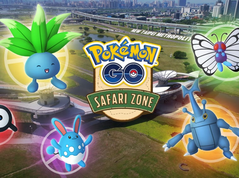 Pokemon GO Safari Zone