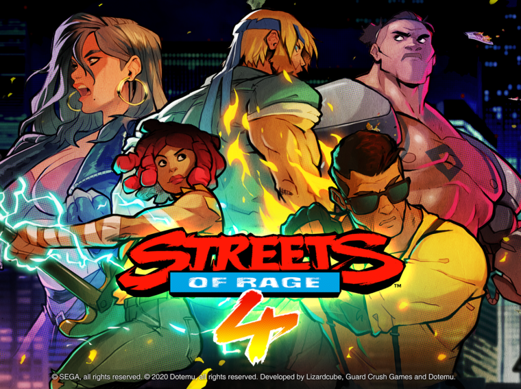Streets Of Rage 4 Coming To Consoles and PC On April 30.
