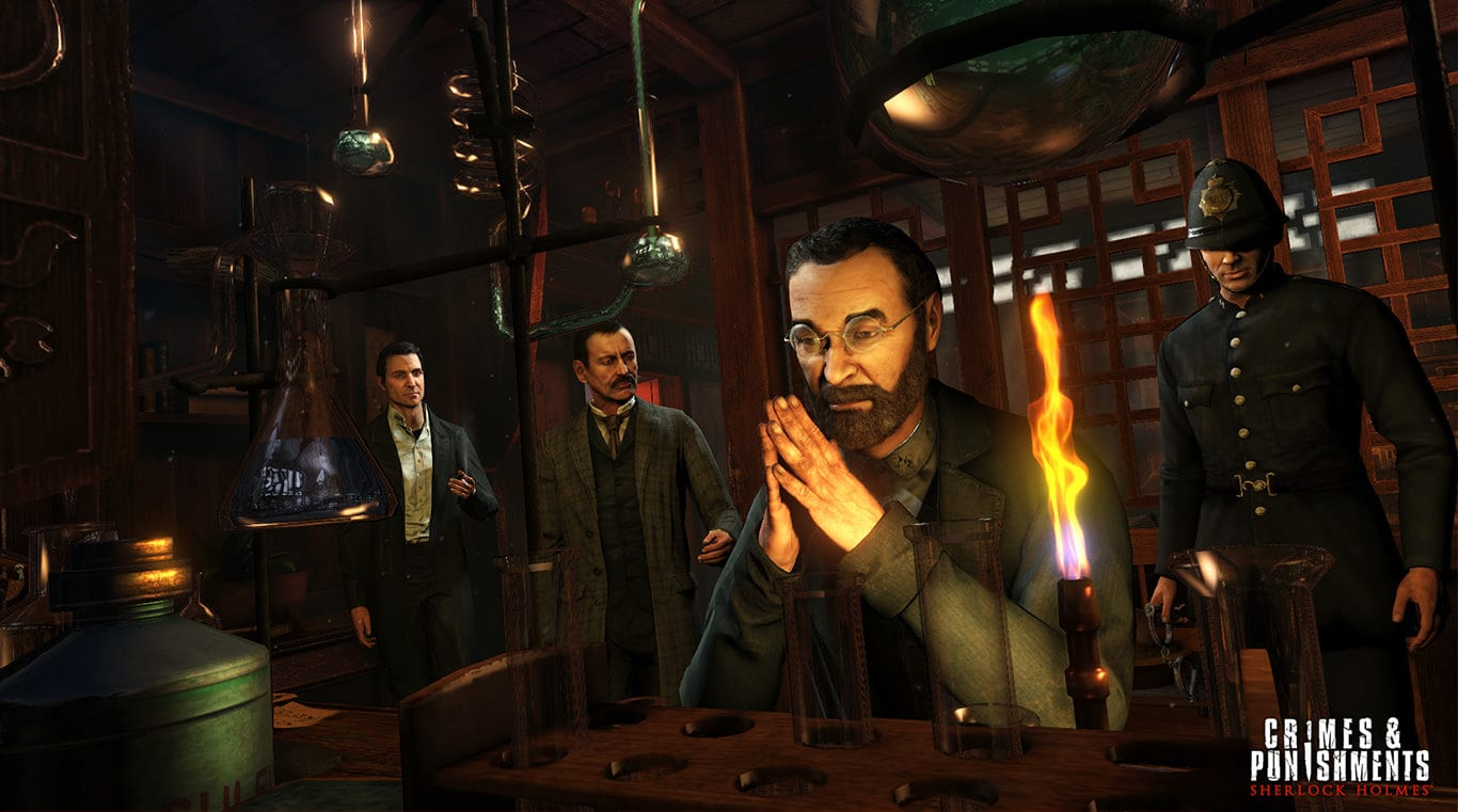 Epic Games Store free title for next week: Sherlock Holmes: Crimes & Punishments.