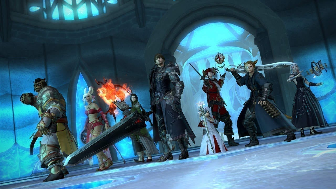 Final Fantasy XIV Free On the PlayStation Store