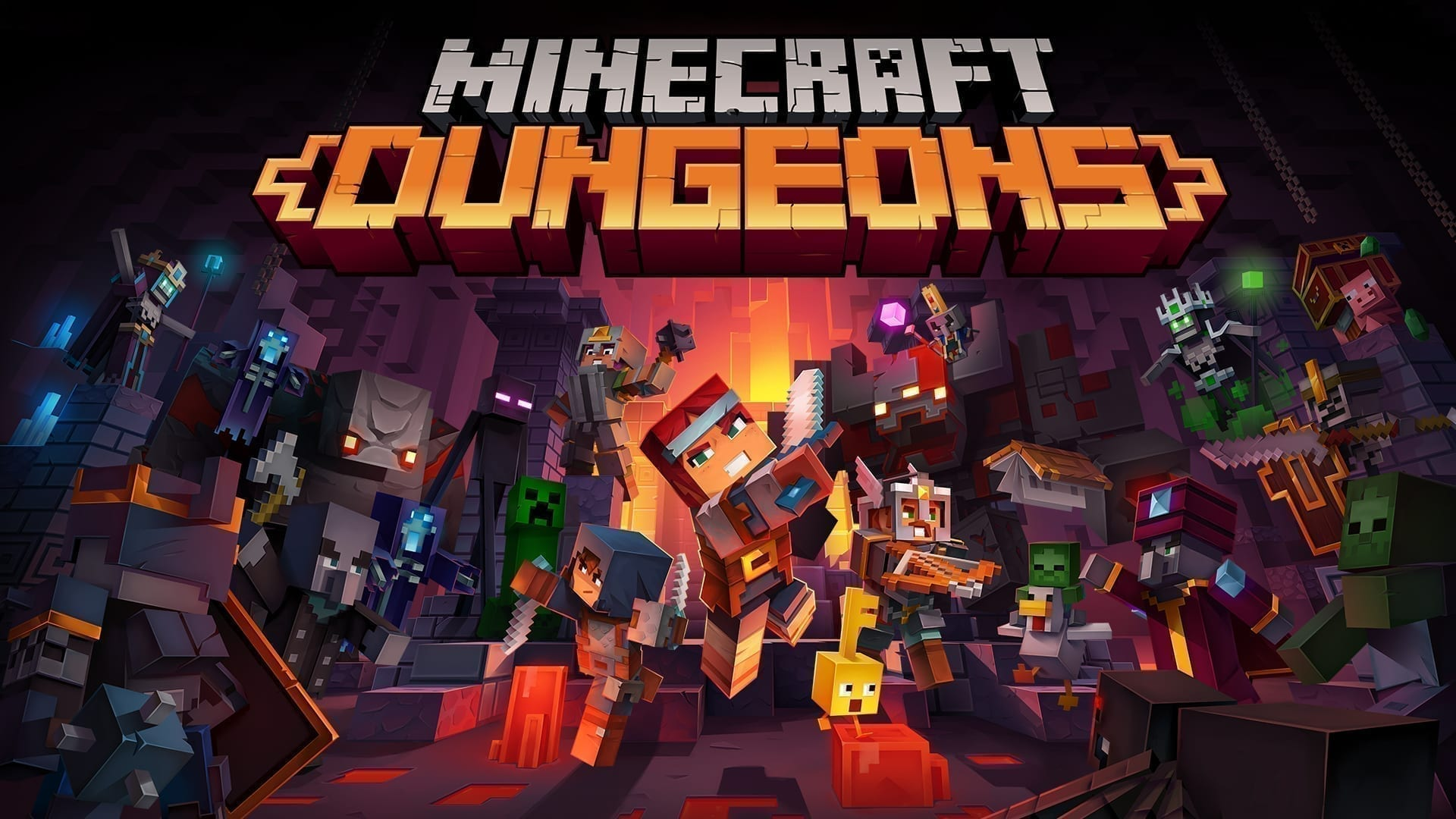 Switch MinecraftDungeons Hero