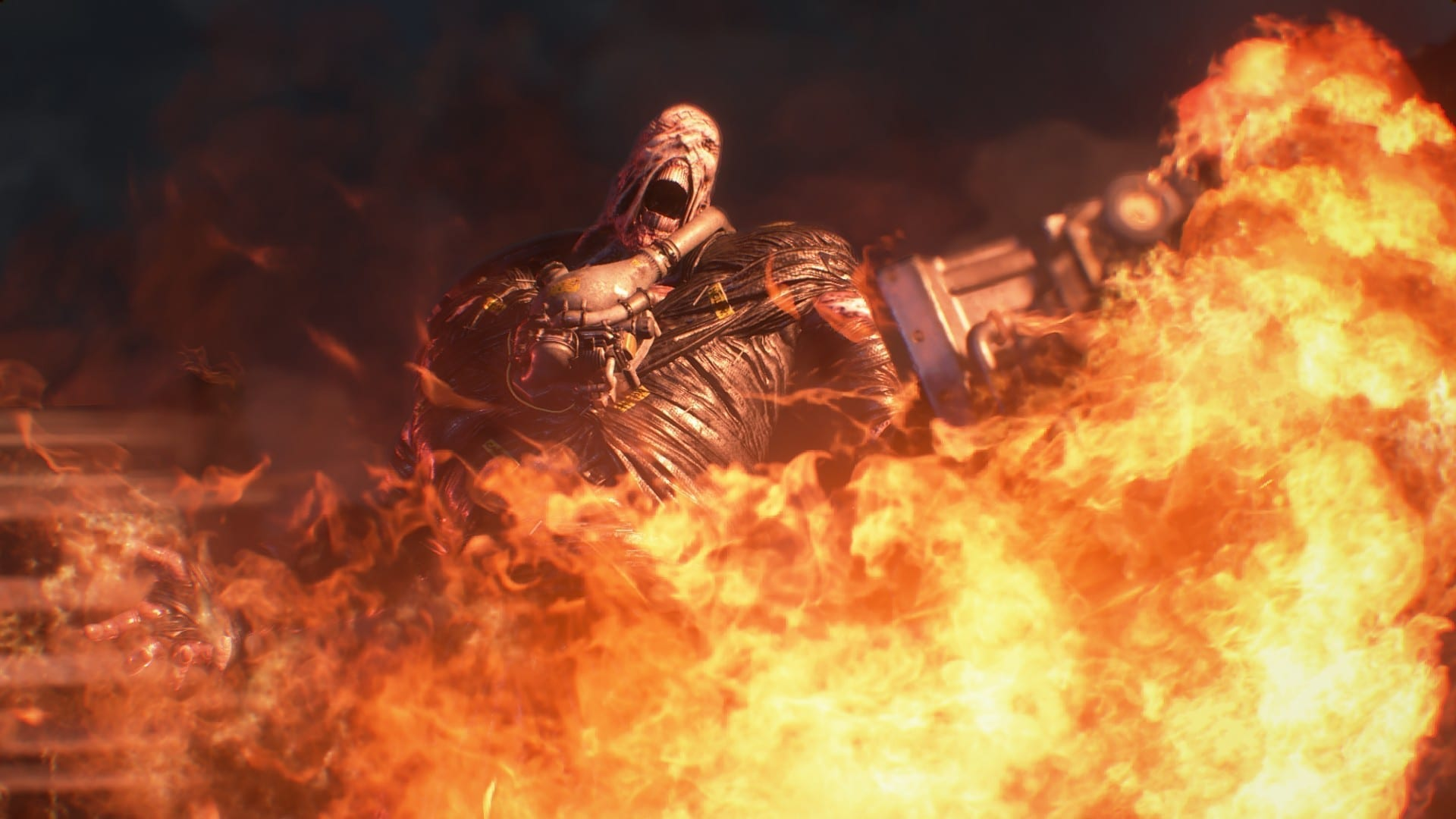 Nemesis Updated For Resident Evil Tie In