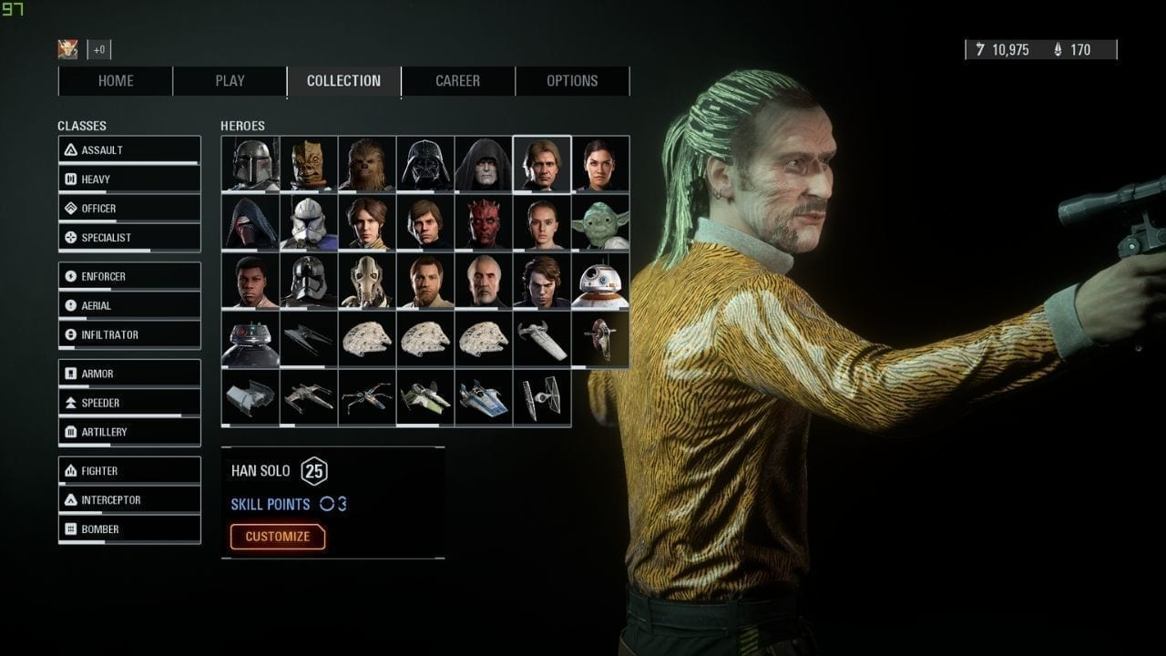 Star Wars Battlefront 2 Mod Replaces Han Solo As Tiger King.