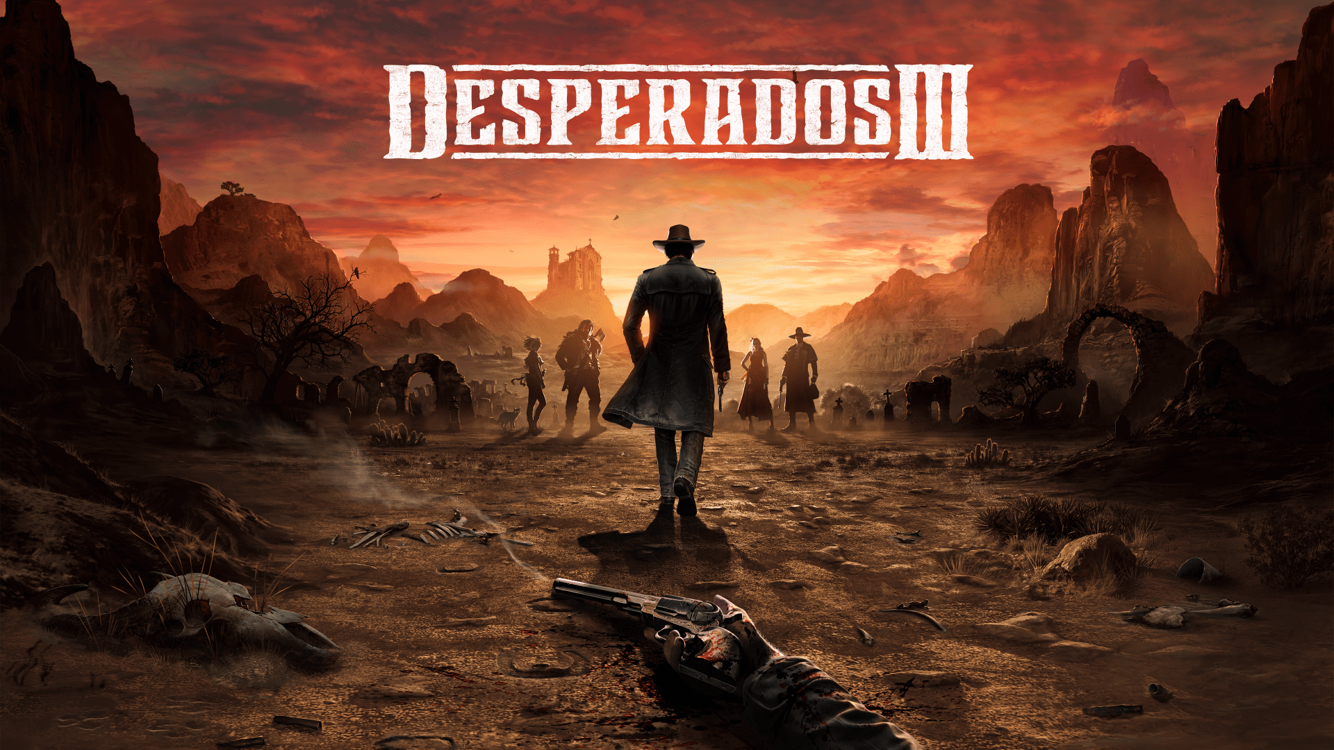 DesperadosIII Wallpaper 4K