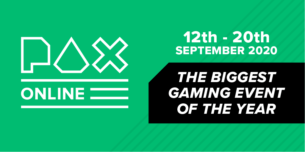 PAX Online Nine-Day Event Announced For September.
