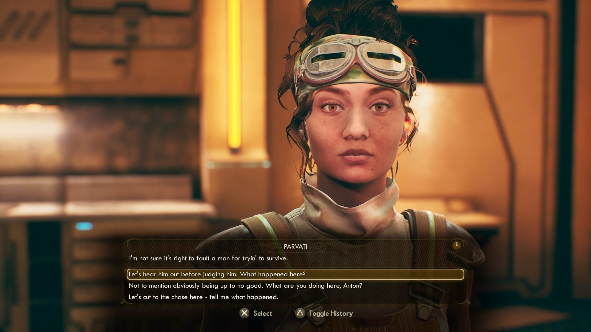 Parvati The Outer Worlds