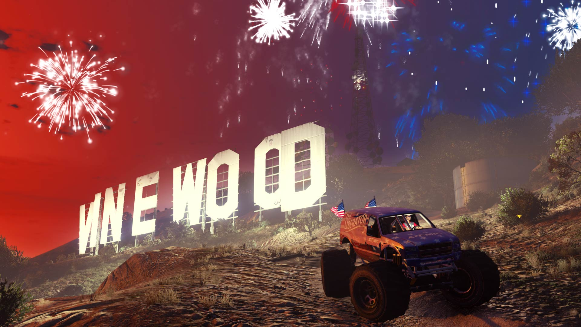 GTA Online Independence Day Content Available.