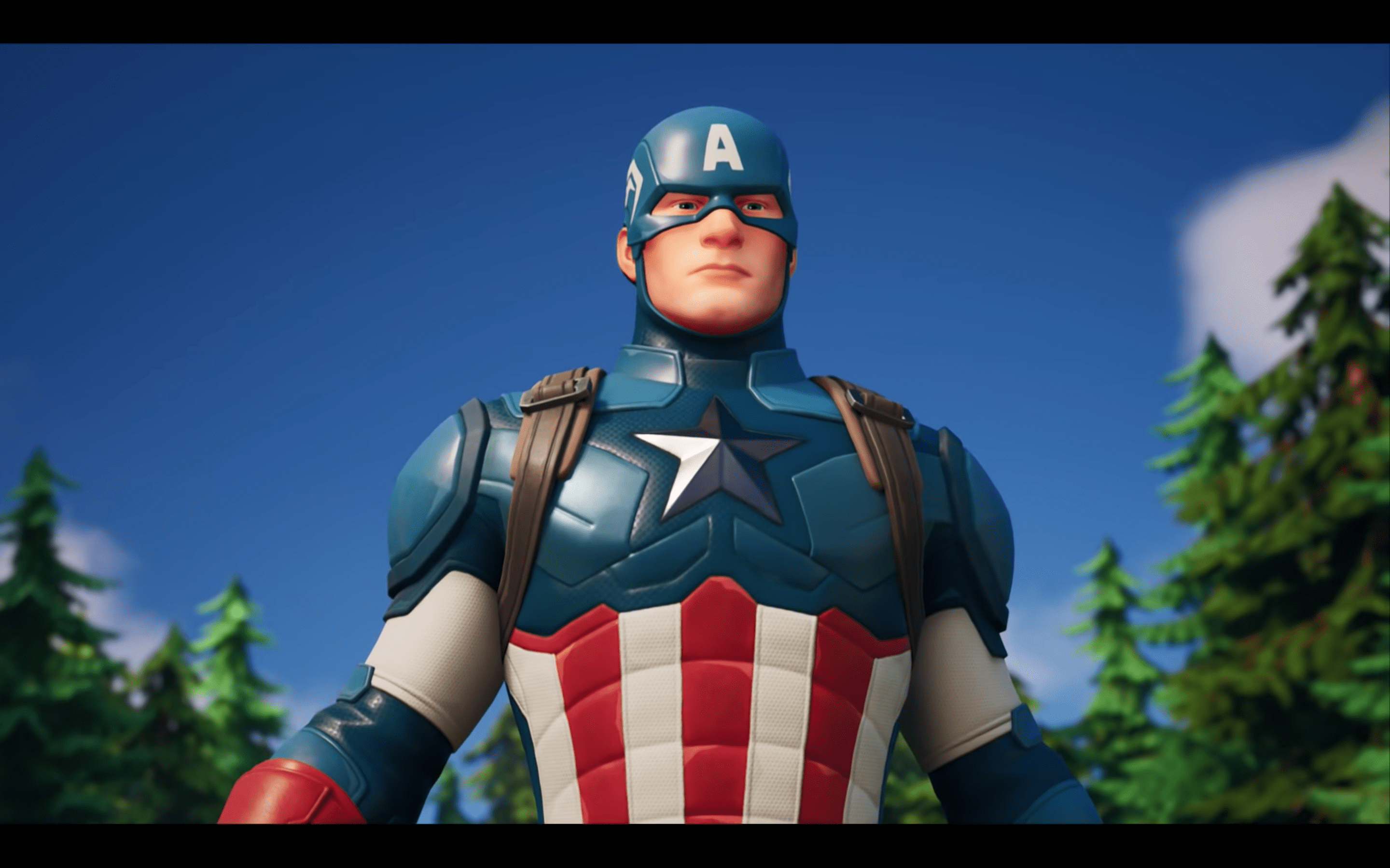 Captain America In Fortnite Announced.