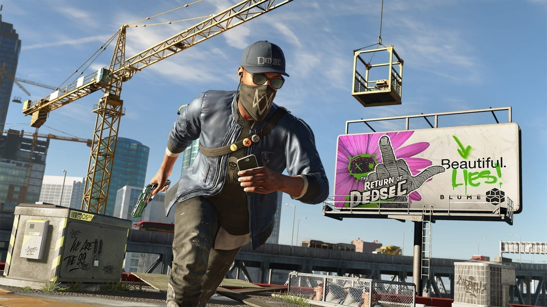 Ubisoft Giving Watch Dogs 2 Away Free This Weekend.