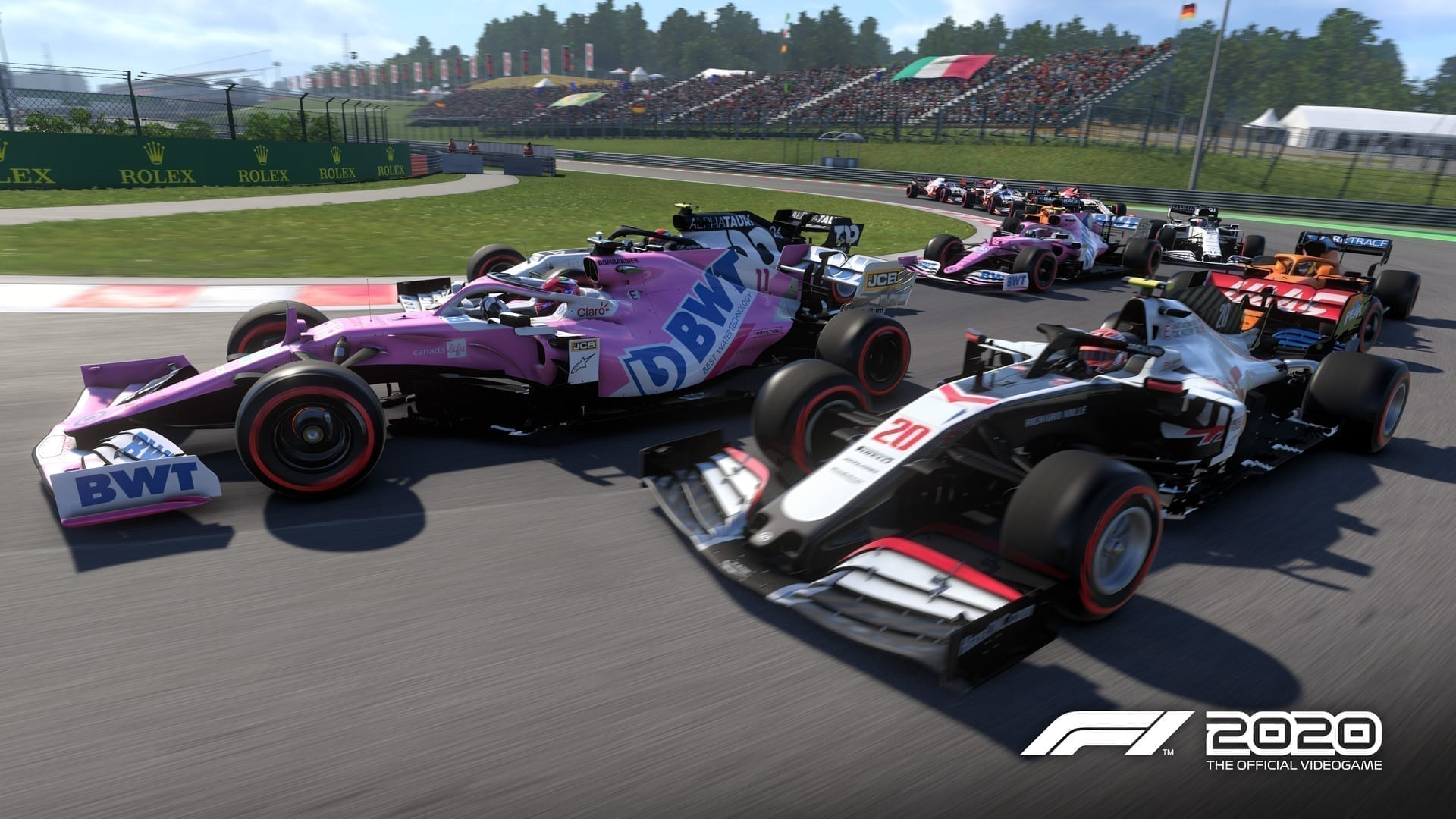 F1 2020 Tops UK Physical Sales Charts.