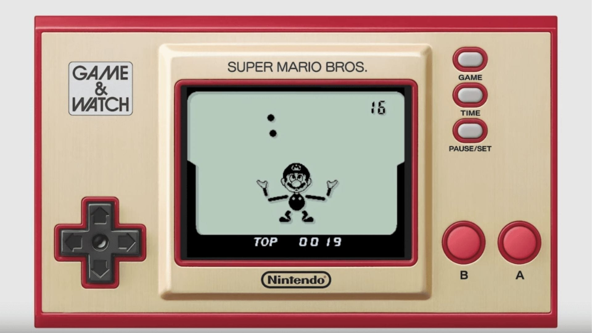 Super Mario Bros Game and Watch