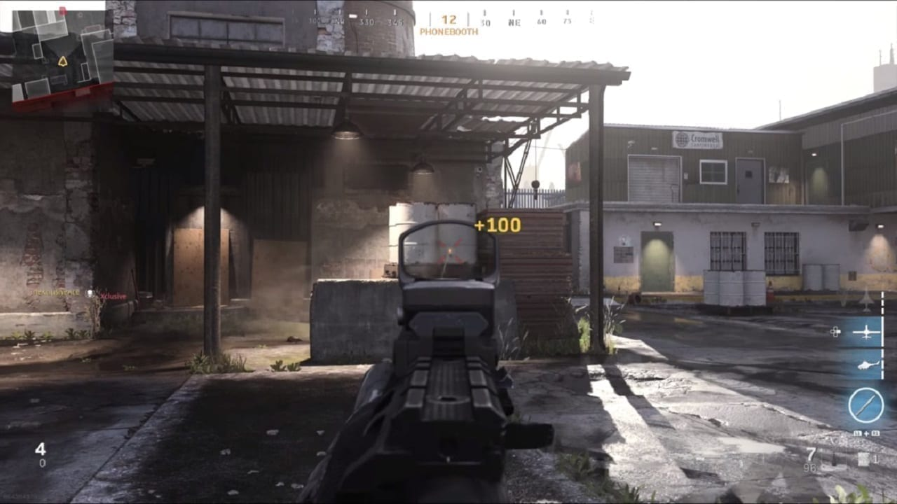 The AS Val Gun Shoots Through Anything in Call of Duty: Modern Warfare