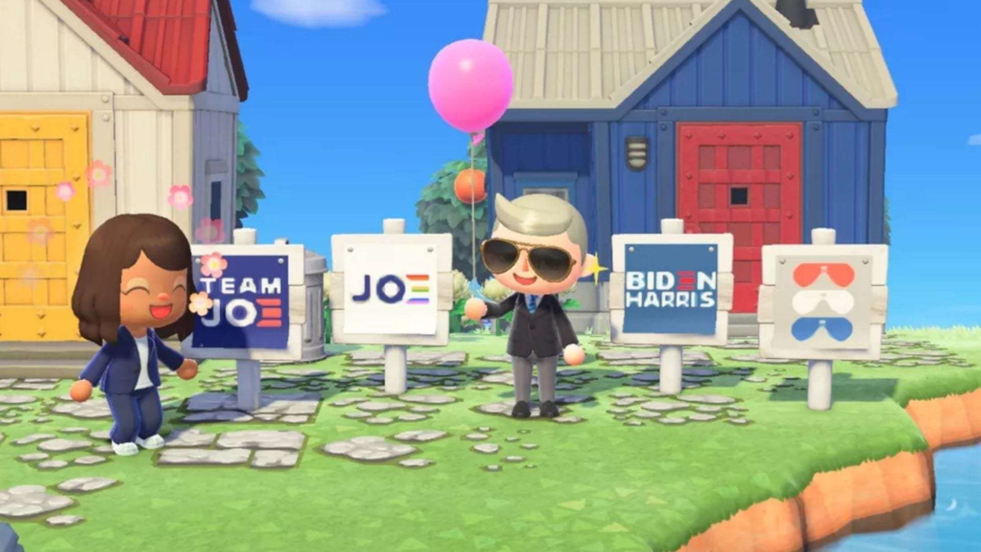 Biden Animal Crossing