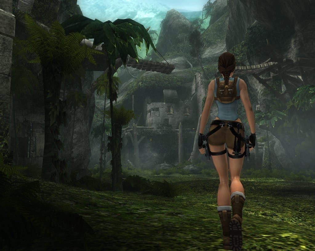 Tomb Raider Anniversary Screenshot