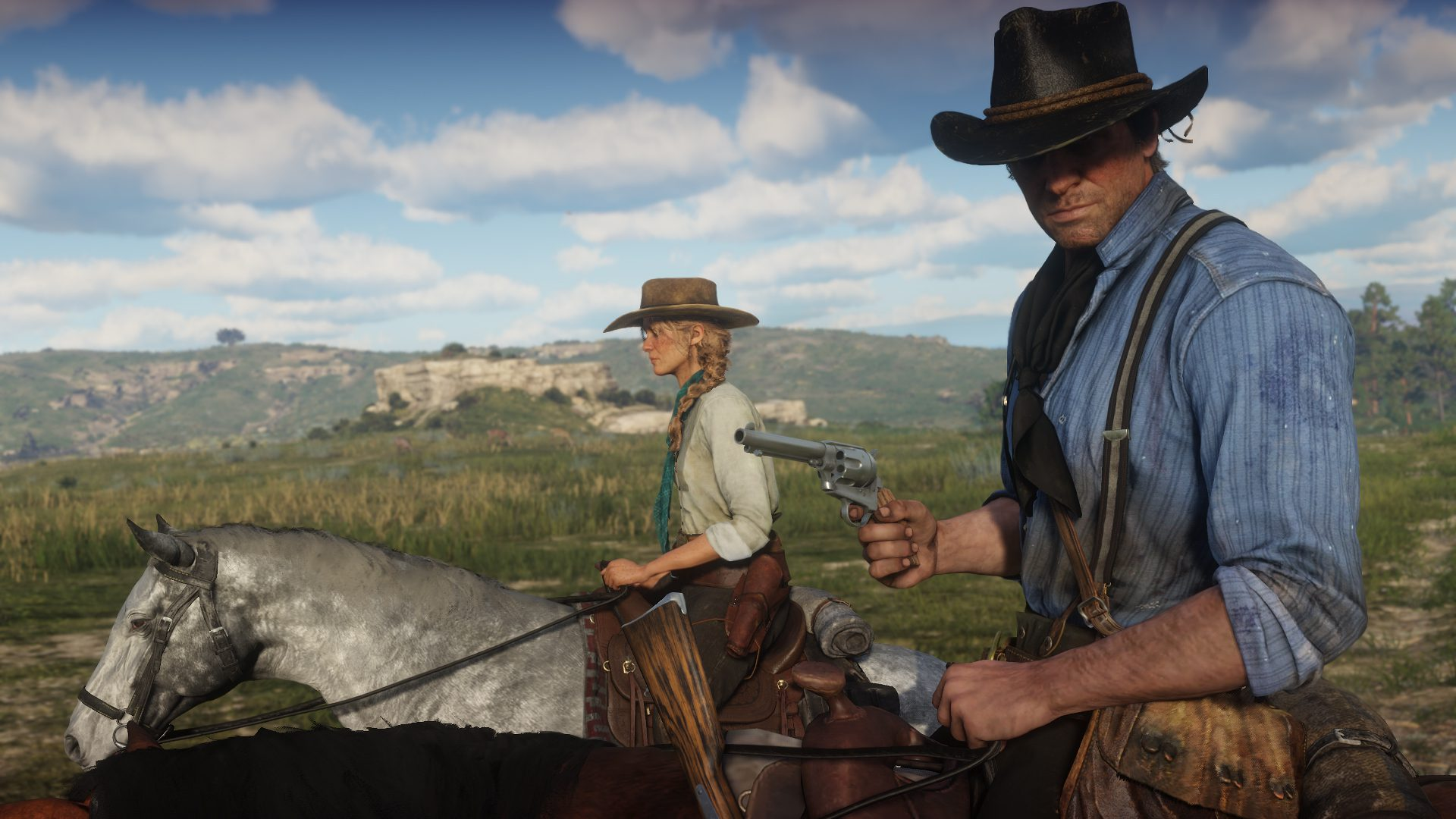 Players Sent Off The Map By Bridge In Red Dead Online.