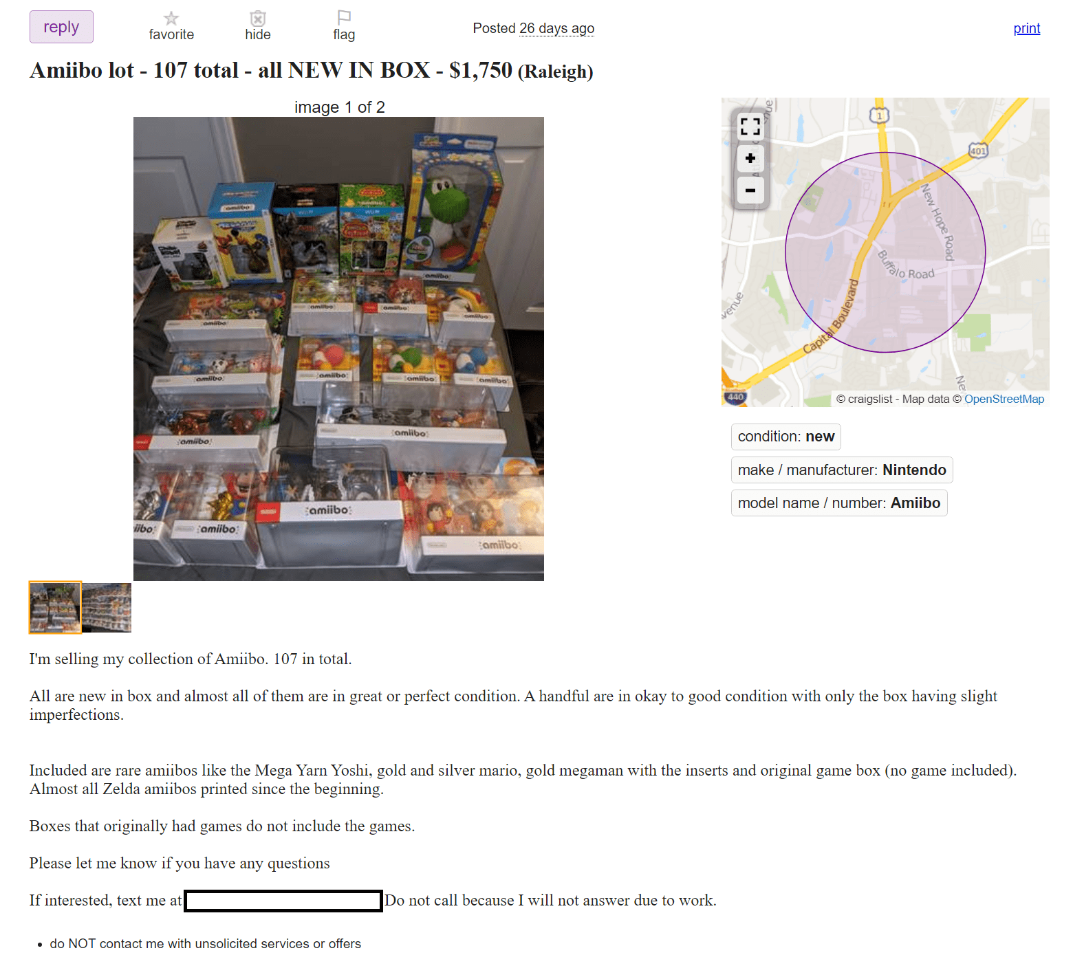 That's a lot of Amiibo