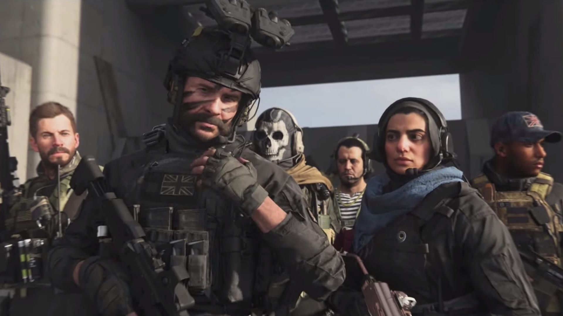 Secret Call of Duty: Warzone Cutscene Sets Up The Return of Soap MacTavish