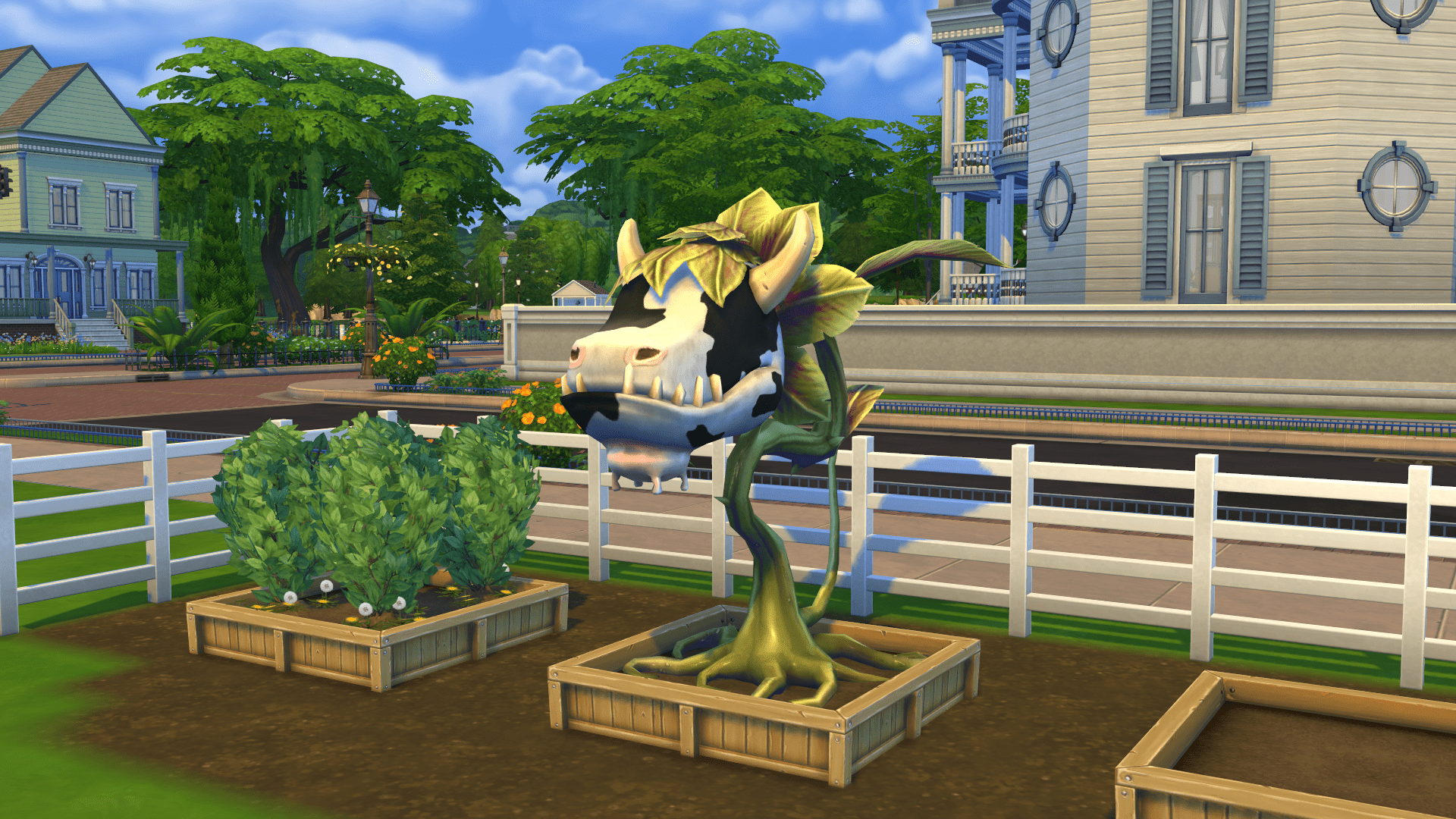 The Sims 4 Cowplant 1