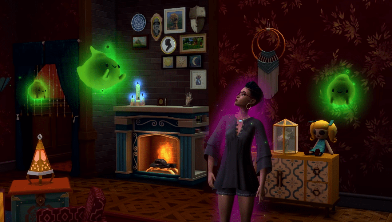 The Sims 4 Paranormal Stuff Pack Announcement
