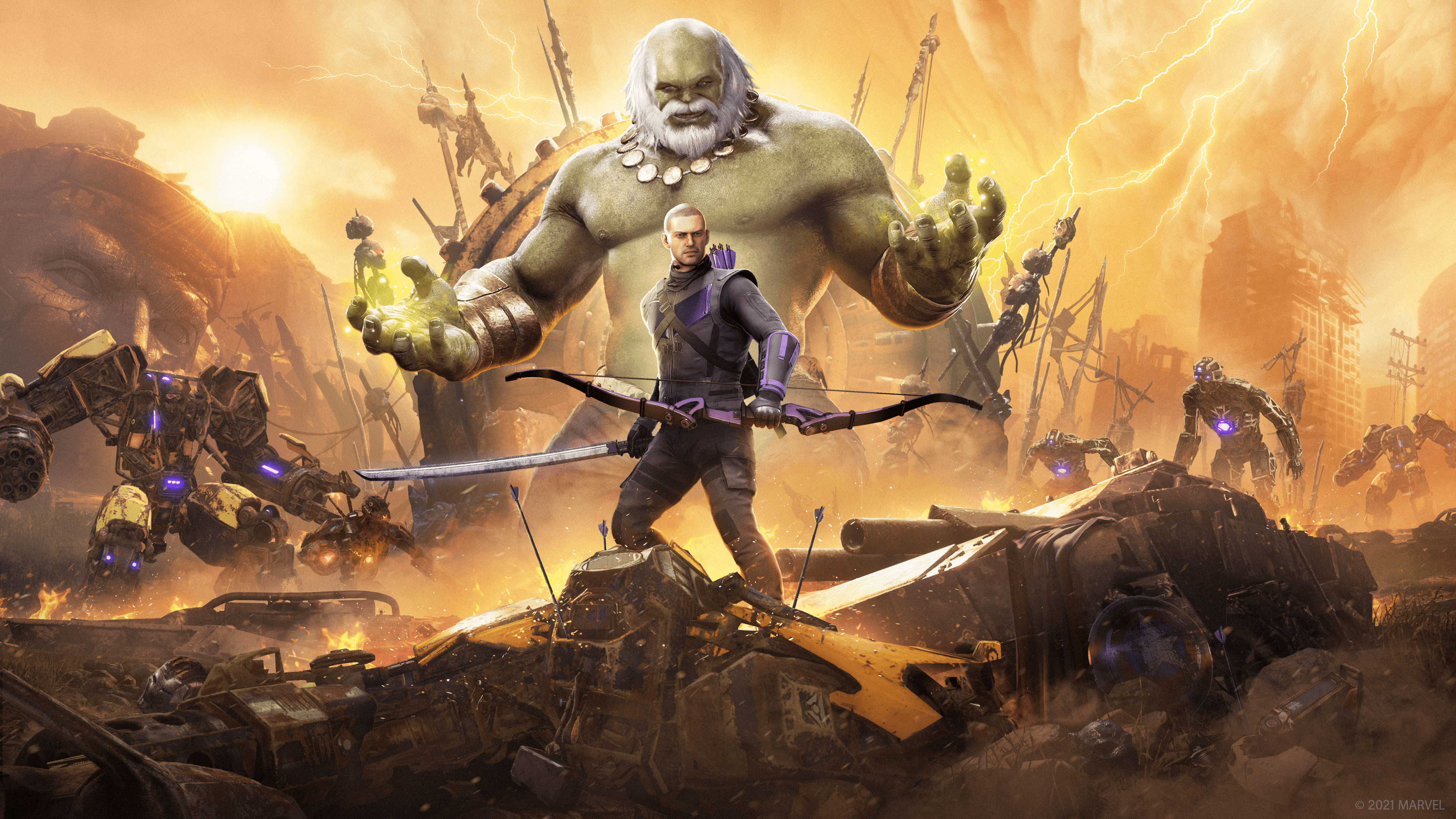 Marvel s Avengers Operation Hawkeye Future Imperfect Key Art