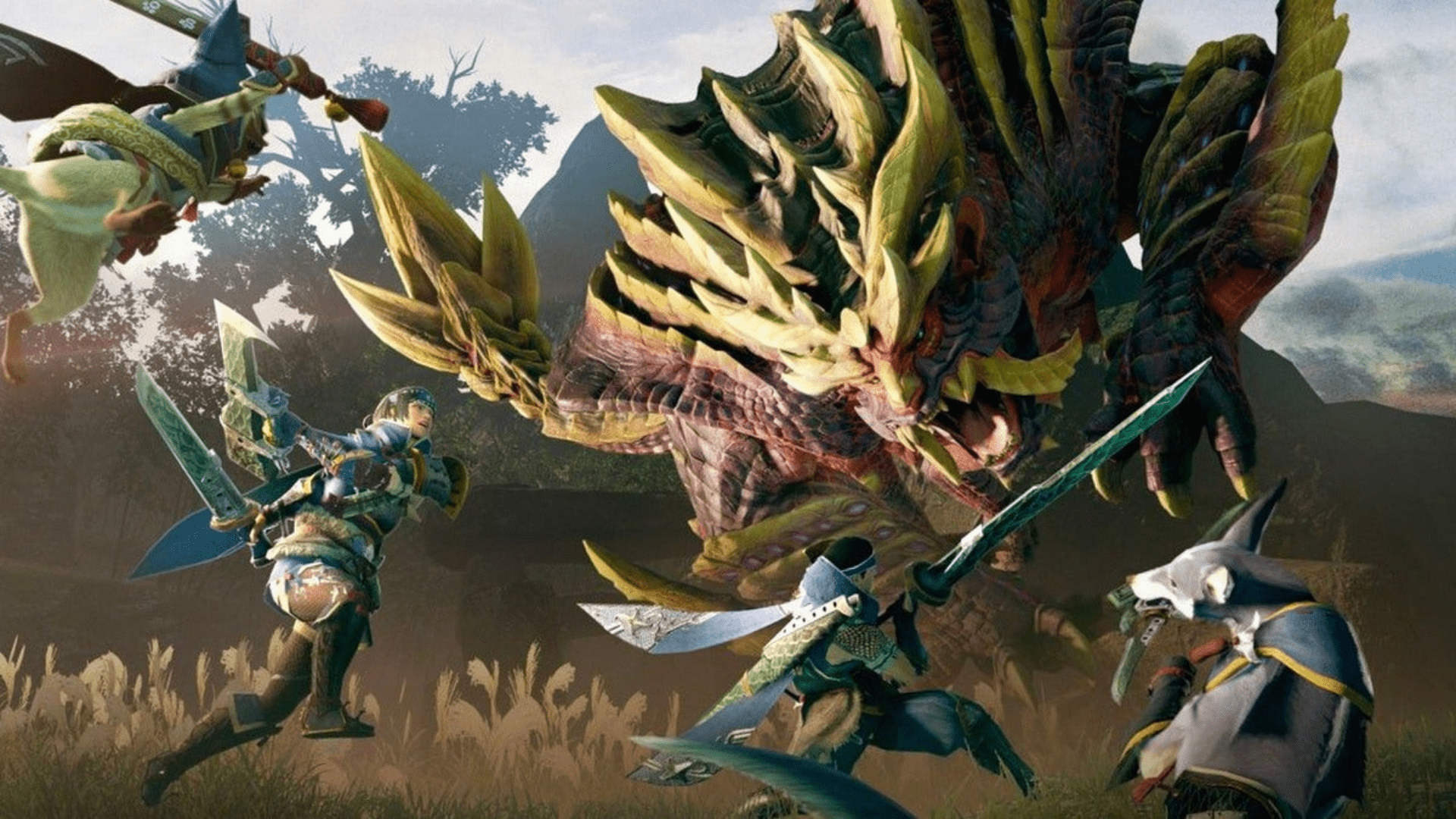Monster Hunter Rise Promo Shot