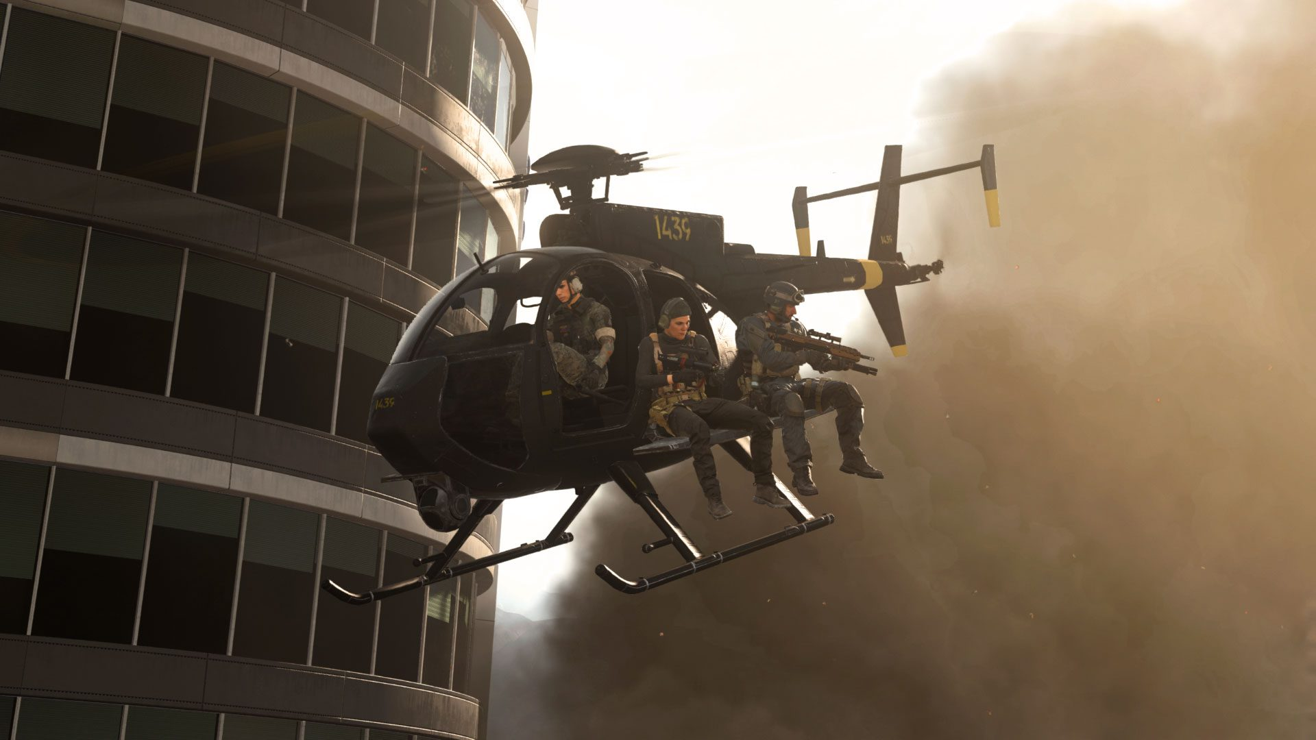 Attack Helicopters Back In Warzone.