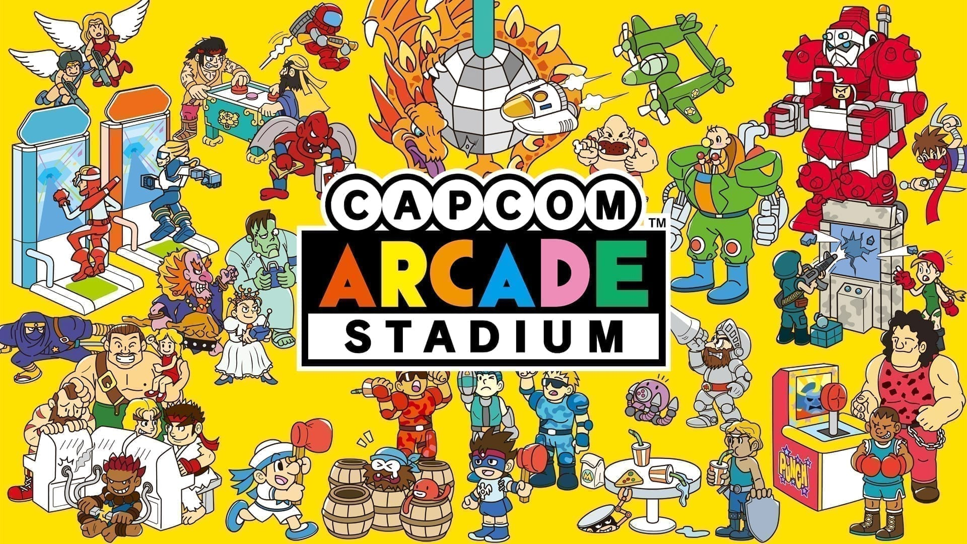 Capcom Arcade Stadium Consoles and PC