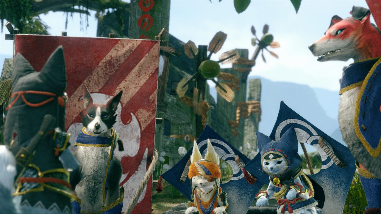 Palicos and Palamutes setting out