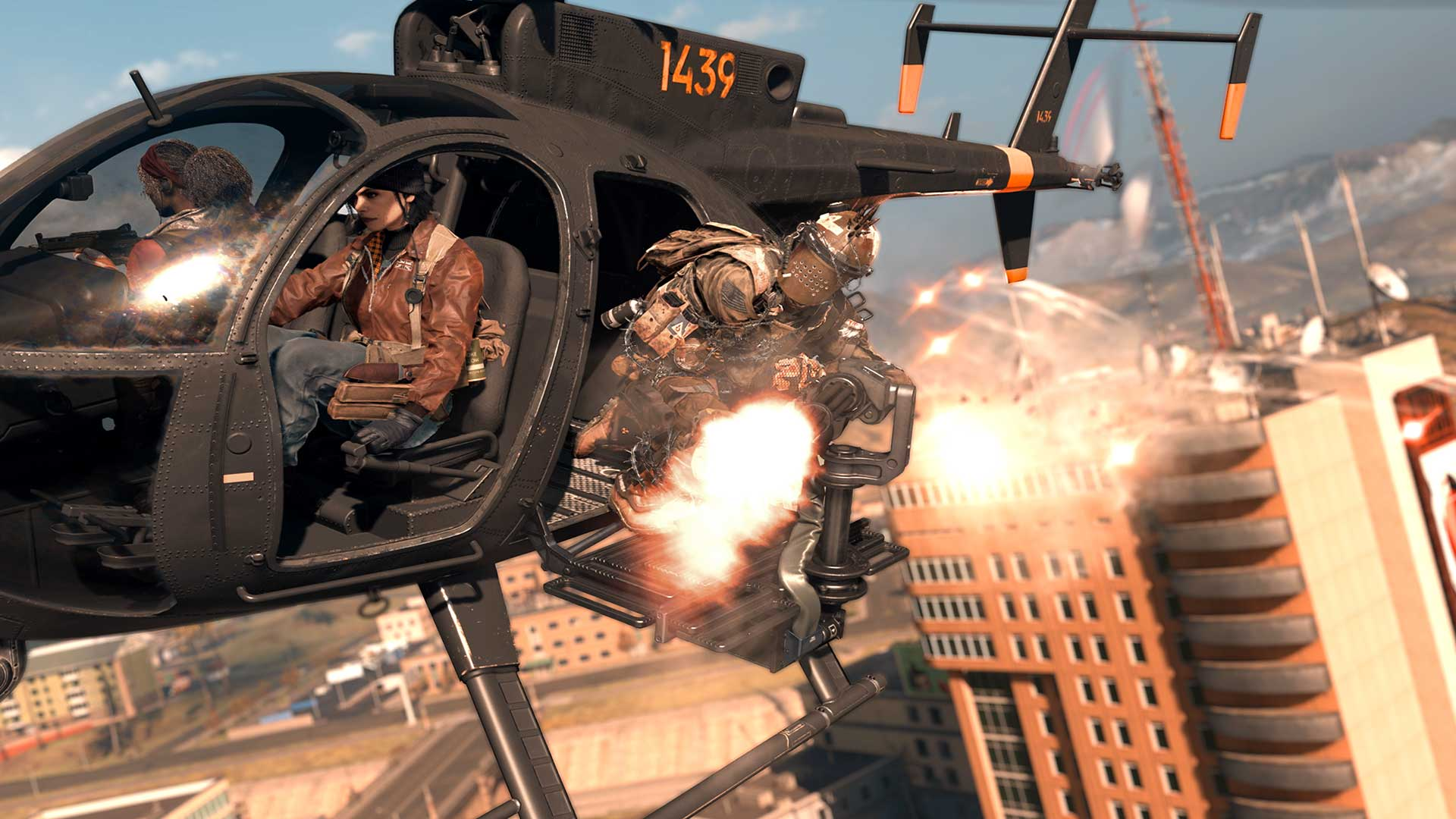 John McClane Gets Stuck In Helicopter Blades.