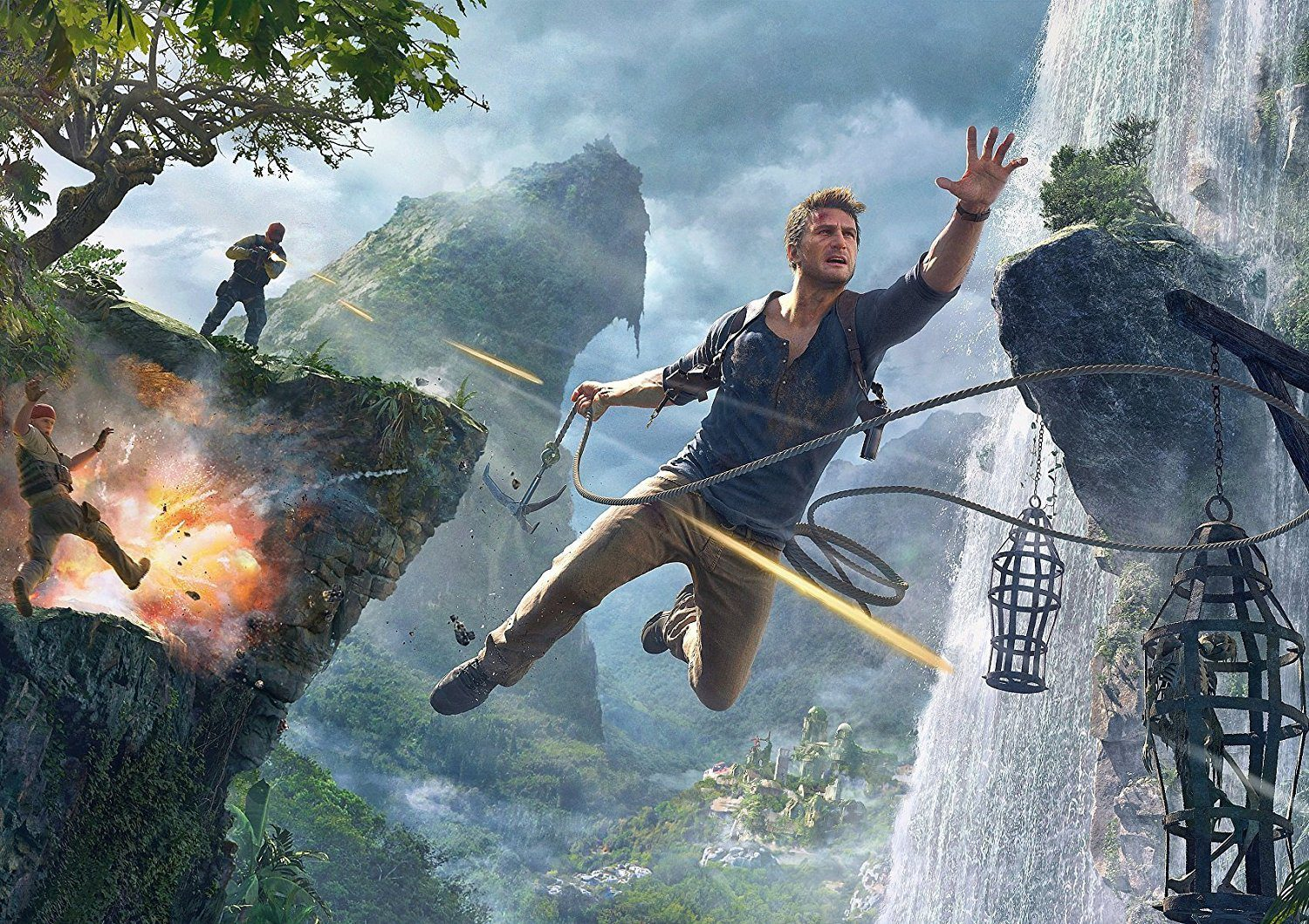 Sony Hints At A PC Port For Uncharted 4.