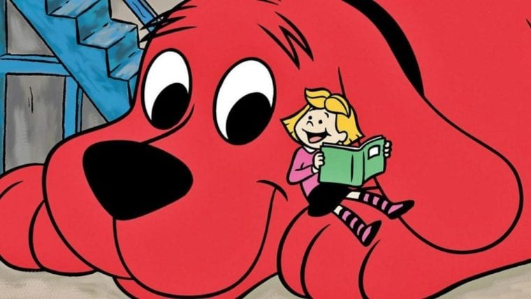 First Look at CG Clifford - He Sure Is a Big Red Dog
